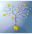 Investment tree vector image