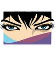 Beautiful Woman eye vector image vector image