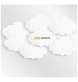 abstract background bubble Paper vector image vector image
