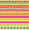 Set of seamless ethnic background vector image