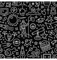 space - seamless pattern vector image