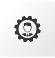 manager icon symbol premium quality isolated vector image