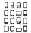 Icon phone icons vector image vector image