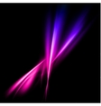 Abstract pink and violet rays lights vector image vector image