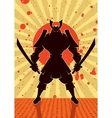 Shadow Samurai vector image