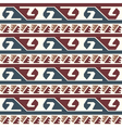 Tribal colored pattern 3 vector image