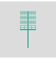 Soccer light mast icon vector image