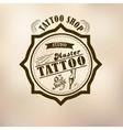 retro style tattoo master vector image