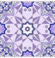 Decorative seamless pattern Retro background vector image