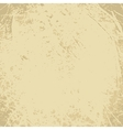 Scratched vintage grunge background vector image