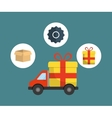 digital marketing shopping buy vector image