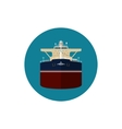Icon tanker vector image