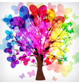 tree with branches vector image