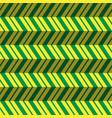 seamless pattern green yellow zig zag background vector image