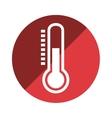 thermometer temperature measure icon vector image