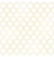 seamless grunge circles polka dots background text vector image vector image