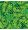 Rain forest pattern vector image