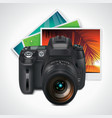 camera and photos xxl icon vector image