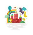 Magic Castle vector image