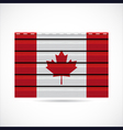 siding produce company icon canada vector image
