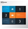 Modern design template in bright colors - can be vector image vector image