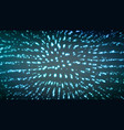 abstract mosaic glowing background futuristic vector image