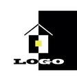logo hause vector image vector image