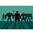 Supervillain Team vector image