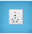 Electric socket vector image