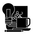idea management scheme icon vector image