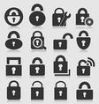 Lock icon vector image vector image
