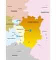 Chechen Republic country vector image vector image