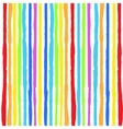 Rainbow Lines Background vector image