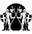 guardians vector image vector image