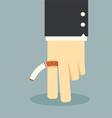 cigarette vector image