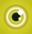 cartoon eye vector image