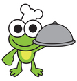Chef Frog vector image
