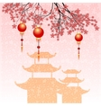 Holiday postcard to Chinese New Year vector image