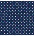 retro polka dots seamless pattern vector image