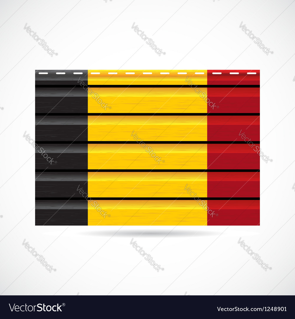 Belgium siding produce company icon vector