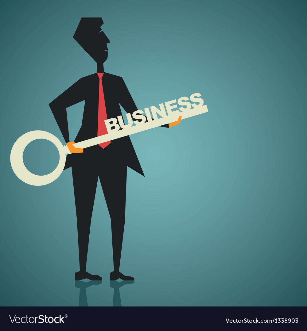 Business motivation vector