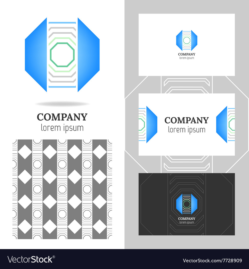 Business abstract logo icon for your company vector