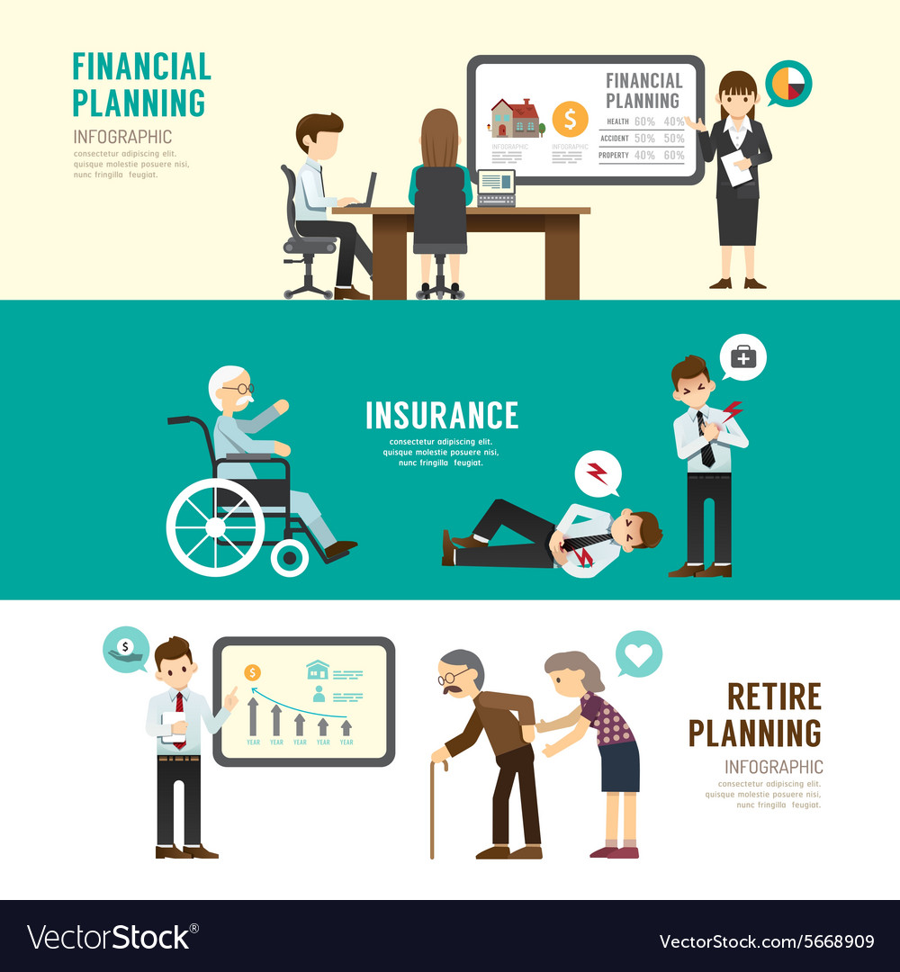 Business design planning concept people set vector