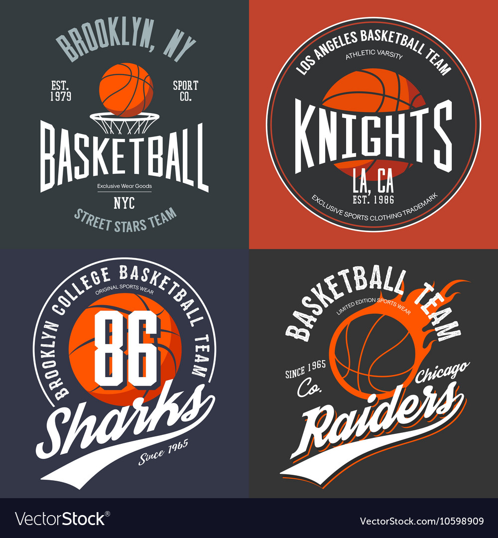 Design for basketball fans usa new york brooklyn vector