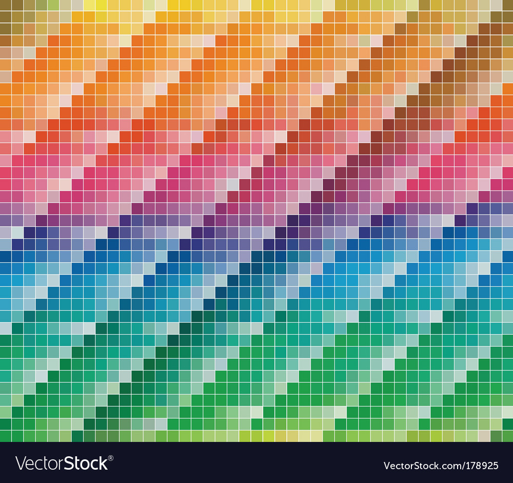 Cmyk colors palette vector