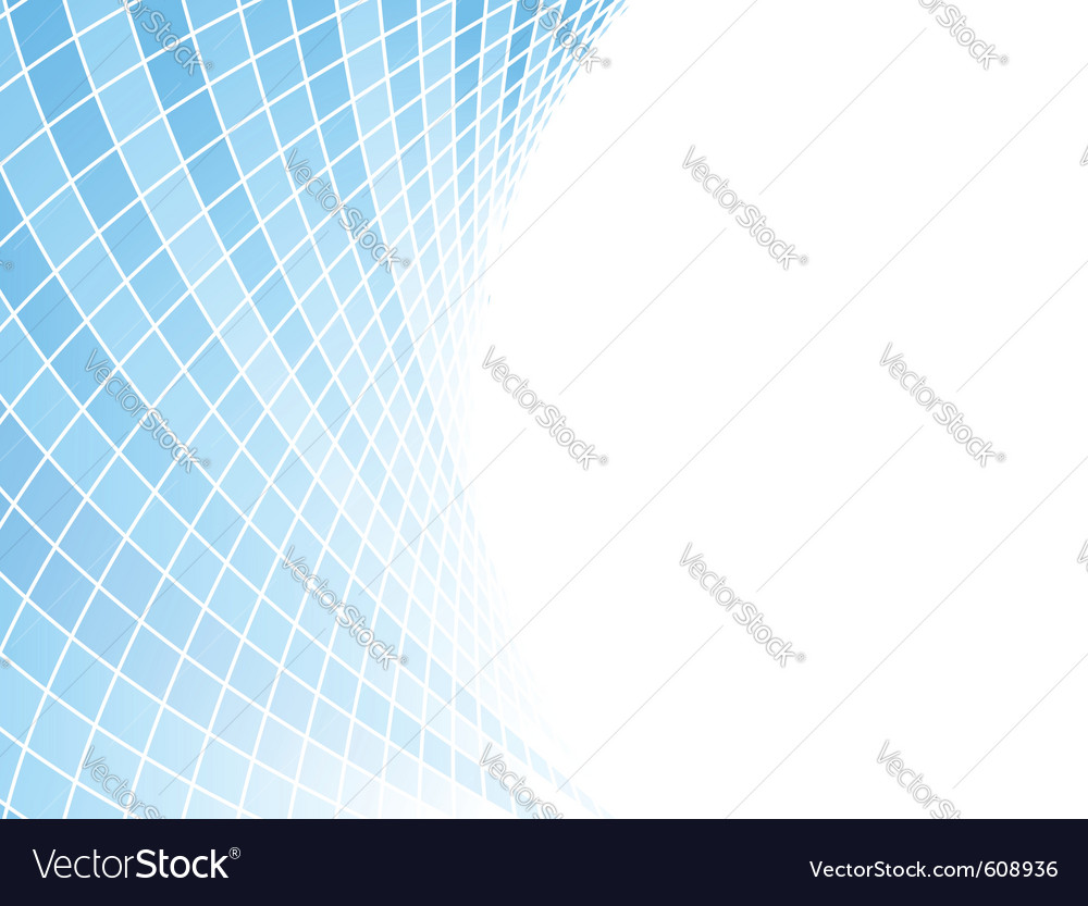 Blue halftone business card  tiles vector
