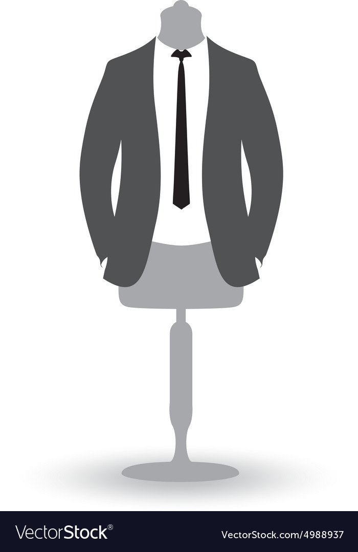 Suit man vector