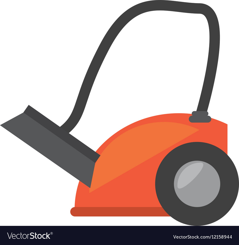 Modern vacuum cleaner appliance vector