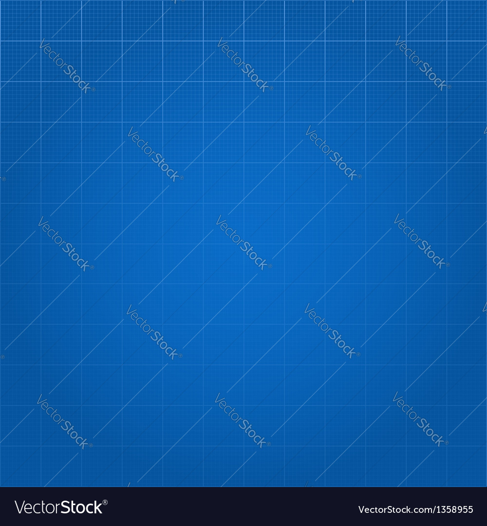Blueprint paper background vector