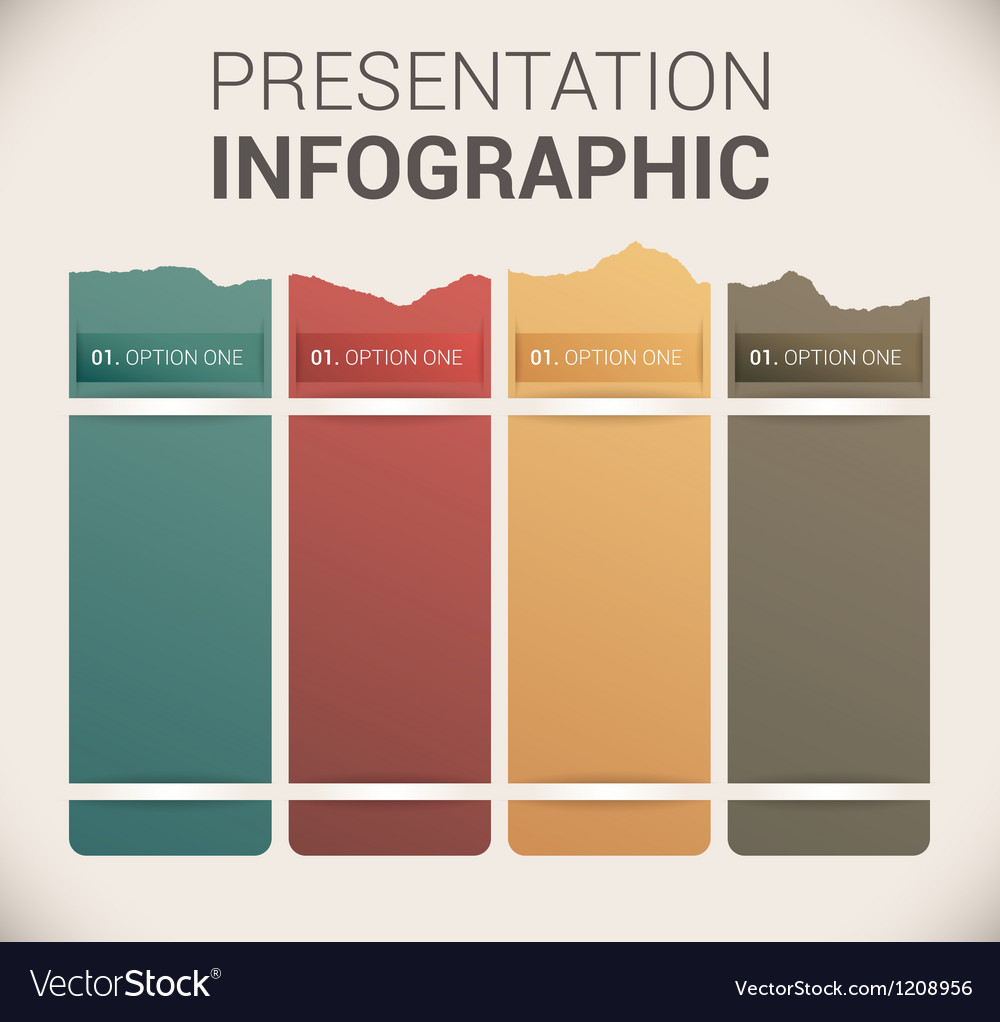 Modern soft color design template infographics vector
